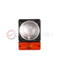 Lampa przednia / drogowa z kierunkowskazem JCB 3CX / 4CX